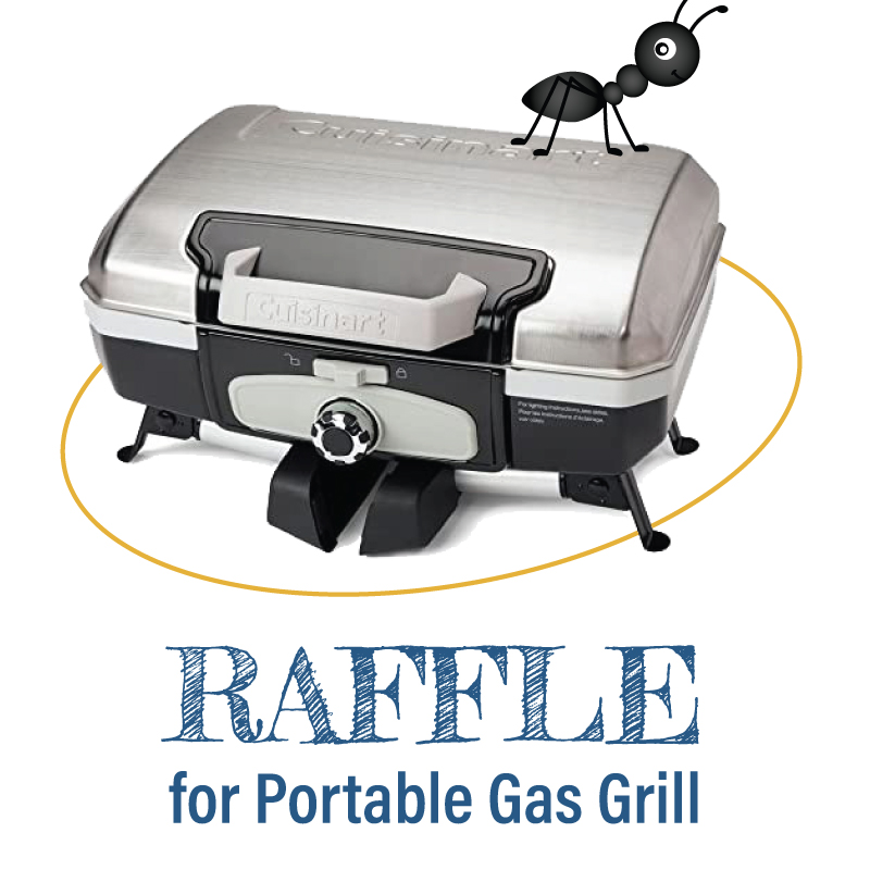 Raffle for a Portable Gas Grill